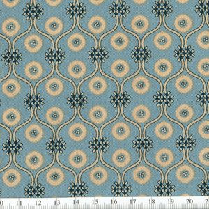 *Marcus Fabrics* Georgetown Moroccan Tile blue