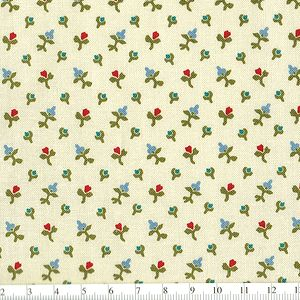 *Marcus Fabrics* Georgetown Ditzy Flowers wh