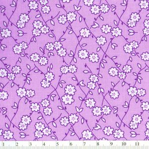 *Windham Fabrics* Story Book Play Time purple