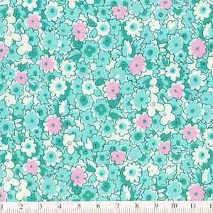 *Windham Fabrics*  Story Book 8 Floral mint