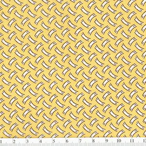 *Marcus Fabrics* Aunt's Grace Miniatures Paint Slash yellow