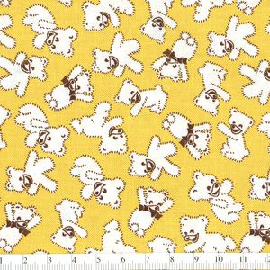 *Windham Fabrics* Story Book Play Time bear yellow
