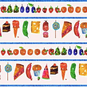 *ANDOVER* The Very Hungry Caterpillar Snacks 45×110