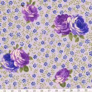 *Quilting Treasures* Laura Ashley Annabella ローラアシュレイ フラワー