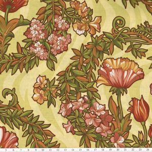 【20%OFF】*ROBERT KAUFMAN* Nouvelle Melodie yellow 45×54